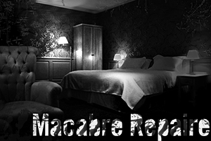 scénarion escape game macabre repaire